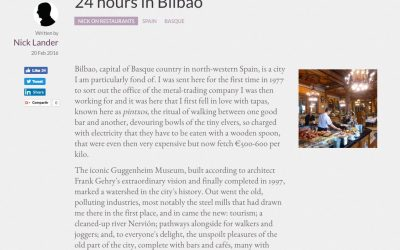 24 hours in Bilbao.