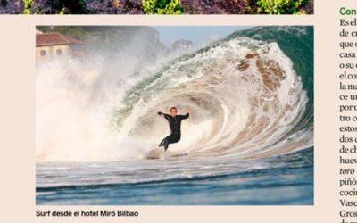Surf en Bilbao con Hotel Miró