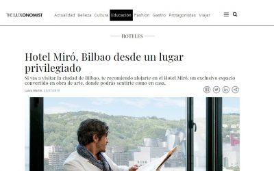 Bilbao desde un lugar privilegiado